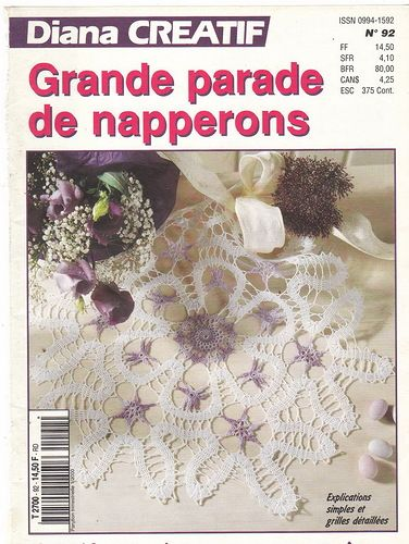 Magazine: Diana Creatif № 92,94,95 - red punto - trabaja mano - Publisher - LÍNEA DE VIDA