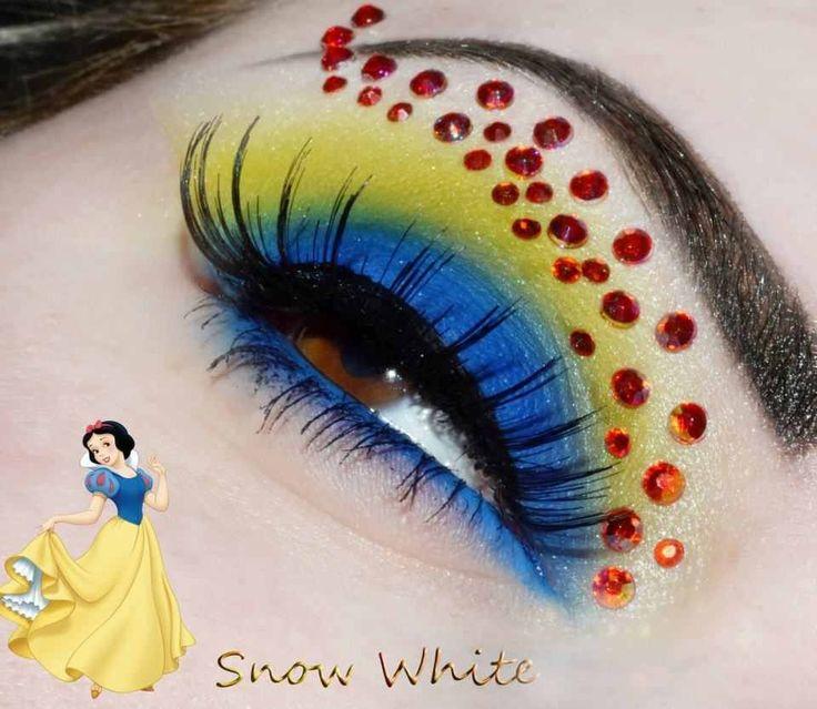 Snow White. + Información sobre nuestro CURSO: http://curso-maquillaje.es/msite-nude/index.php?PinCMO