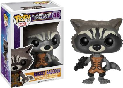 Guardians of the Galaxy - Rocket Raccoon Pop! Vinyl Bobble Head Figure