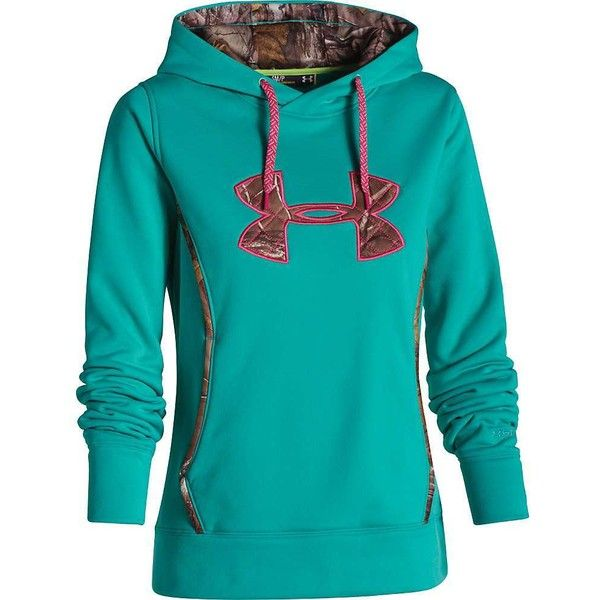 Under Armour Women's UA Storm Caliber Hoody ($65) ❤ liked on Polyvore featuring activewear, under armour and under armour sportswear