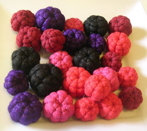Felt Food-Sam McLean. Berry mix | Flickr - Photo Sharing!