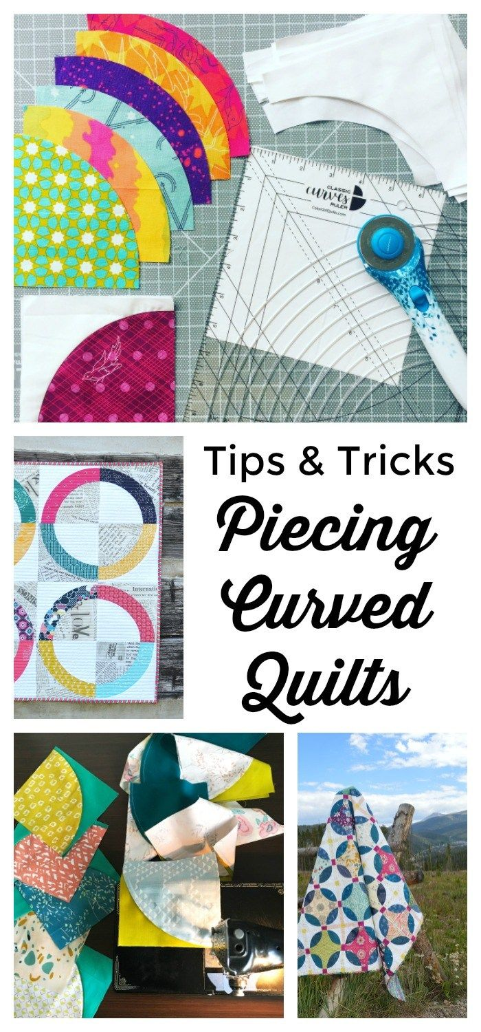 Tips, Tricks, and Tools for Piecing Curves