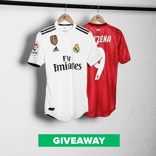 san francisco 10c42 9dde4 GIVEAWAY We're giving away 2 Real Madrid shirts: 1 home kit ...