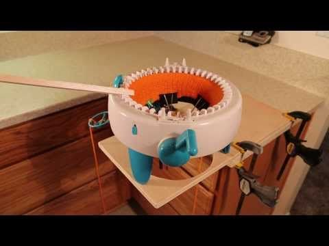 Modifications to Innovations Knitting Machine - Review - YouTube
