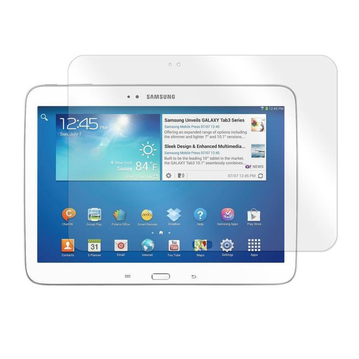 Screen Protector for Samsung Galaxy Tab 3 10.1 Tablet (87353)