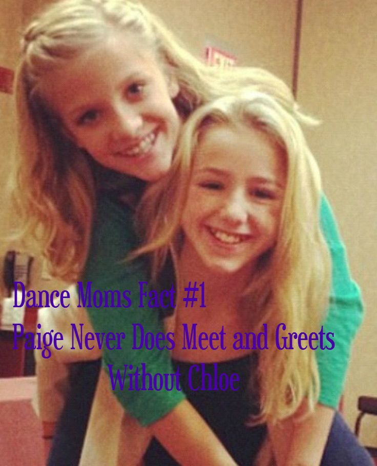 Dance Moms Fact Made By Me @Tom John John John John Kennedy Jones Enjoy :)