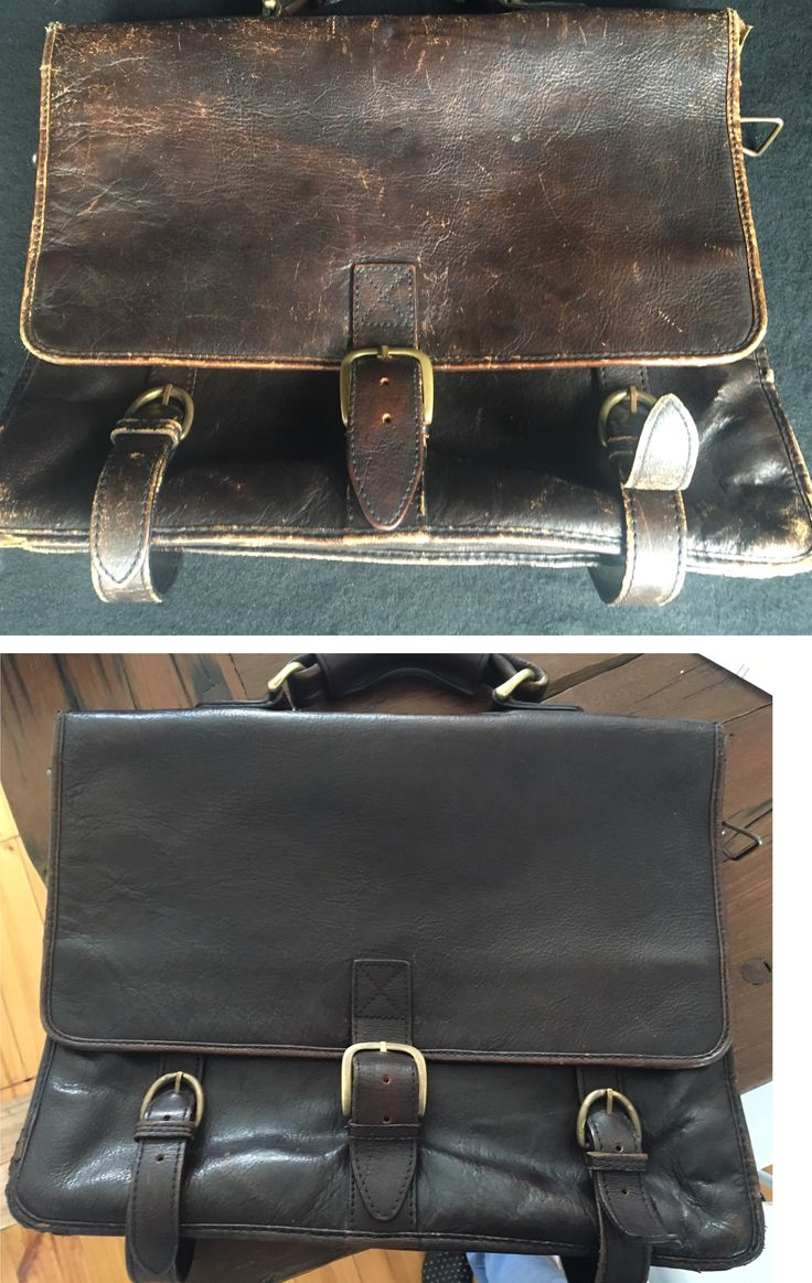 Check out the before and after shots on this beautiful vintage leather satchel. New zips, stitching and a polish. What a difference. www.soleservice.com.au