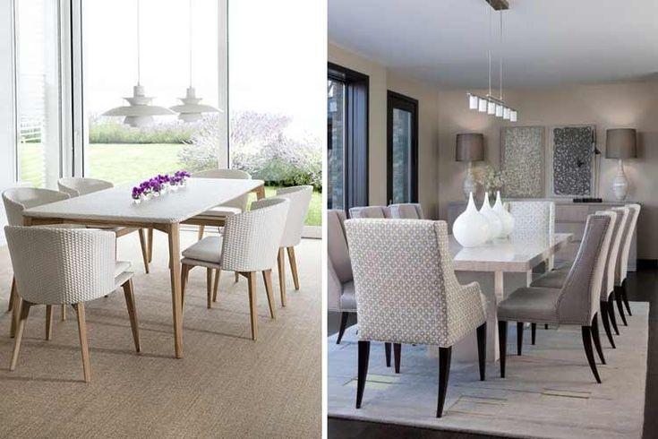Tipos de sillas de comedor para la decoración de tu hogar
