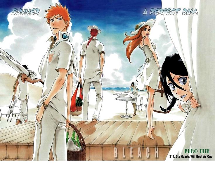 I do so love the Bleach Manga! ^_^