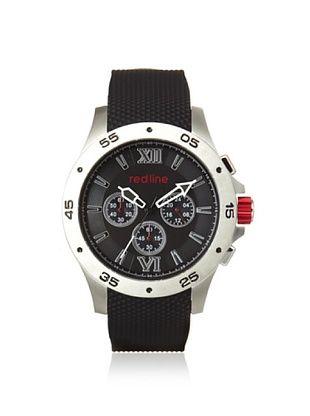 82% OFF red line Men's 60029 Spark Black Rubber Watch