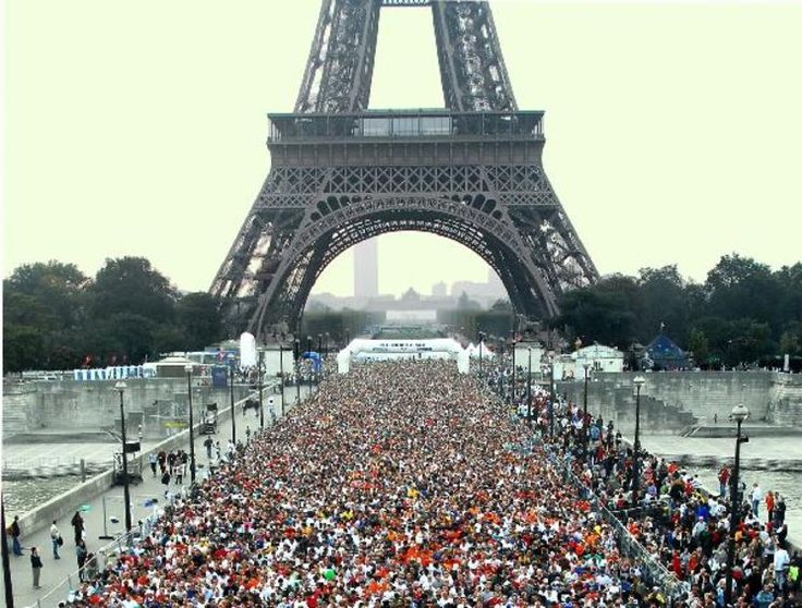 Trying to be able to run the Paris Marathon next year! We could drive there, do the marathon, stay the night and see Paris the next day, drive home that night!