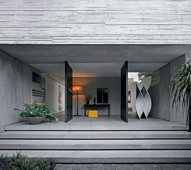 ricardo bello dias casa de liliane barboza so paulo modern doorsfront