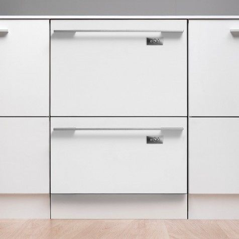 FISHER & PAYKEL DD60DHI7 Two Drawer Integrated Dishwasher