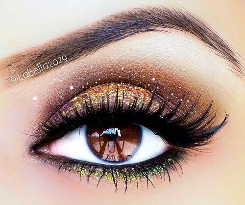 dramatic eye makeup for brown eyes Dramatic Eye Makeup Ideas