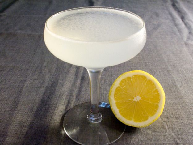 This version of the White Lady is light and fresh, blending the subtle botanicals of gin with the sweetness of Cointreau and the tartness of lemon juice. Though the proportion of gin is high in Uyeda's iteration, his technique skillfully blends the flavors of the cocktail in such a way that it tastes as lovely and ethereal as it looks.