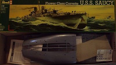 Sea 2590: Revell Germany 1 72 Uss Saucy Snowberry Flower Class Corvette Wwii Kit #5079 -> BUY IT NOW ONLY: $135.99 on eBay!