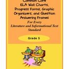 The document covers the ALL of the Literature and Informational Text Standards.  This mega 64-page document contains graphic organizers, Common Cor...
