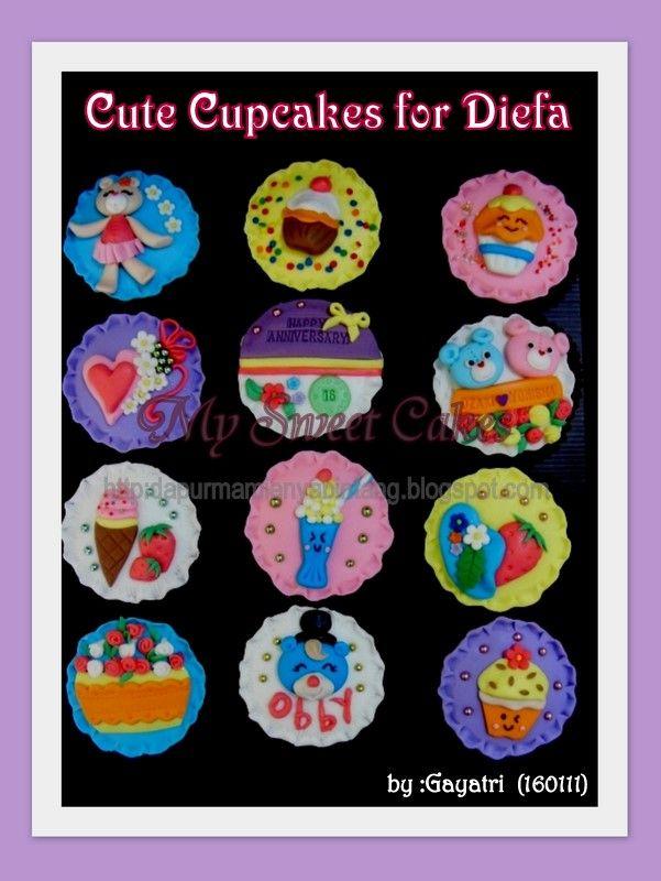 Cute cupcakes for diefa