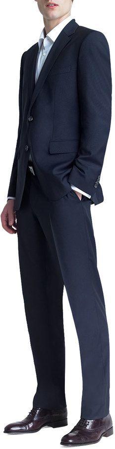 Boss Hugo Boss Basic Two-Button Suit, Navy
