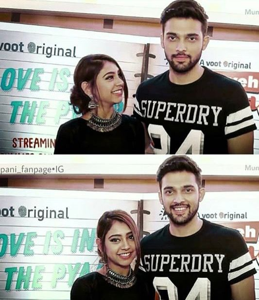 Pin by Naaz on parth samthaan n niti Taylor | Forever love