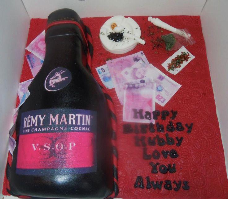 Remy Martin Cake Designs