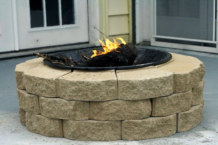 Diy fire pit projects diy firepits pinterest for Fire pit project