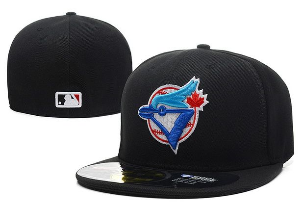 MLB Toronto Blue Jays 59Fifty Hats Retro Classic Pop Caps Black|only US$8.90