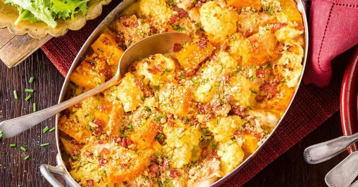 A tasty and warming chicken bake that packs in the vegies, making it a perfect family recipe.