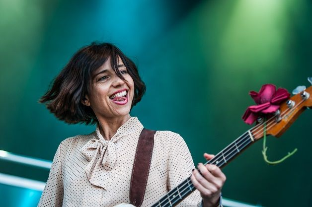 Paz Lenchantin, bassist of the Pixies