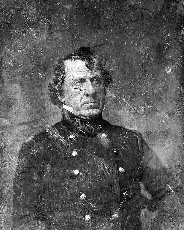 (1840s) William Gates - Colonel, US Army; Governor of Tampico, Mexico, 1846-1848.