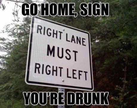 The amount of car crashes this sign will cause