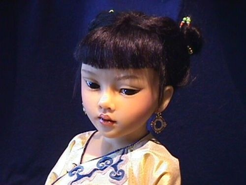 Heloise Made in France Magnificente Perle Asian Child  Artist Doll ... beauty ... <3 www.24kzone.com