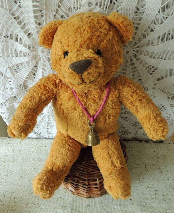 FrenchTeddy Bear Montessori Pretend Play Toy Vintage Toy