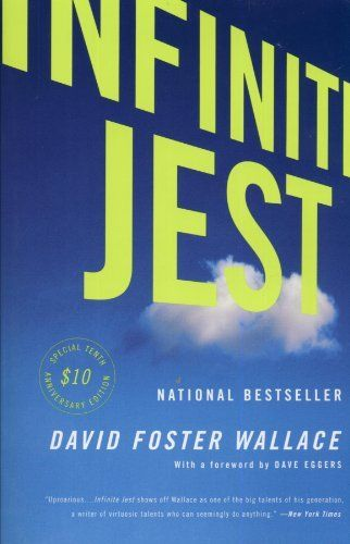 Infinite jest david foster wallace playful language and absurdist plots makes this book a breezier read than its weight might imply