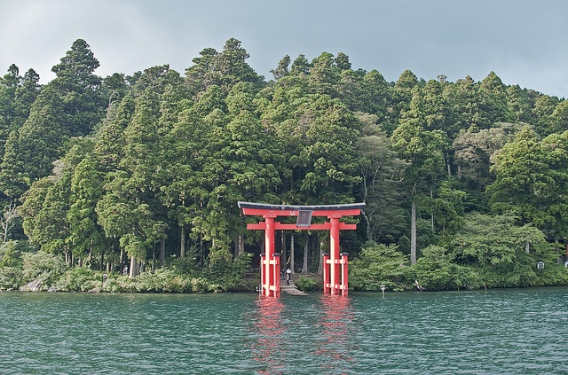 九頭龍神社(神奈川) Shinto gateway of Kuzuryu Jinja, Kanagawa