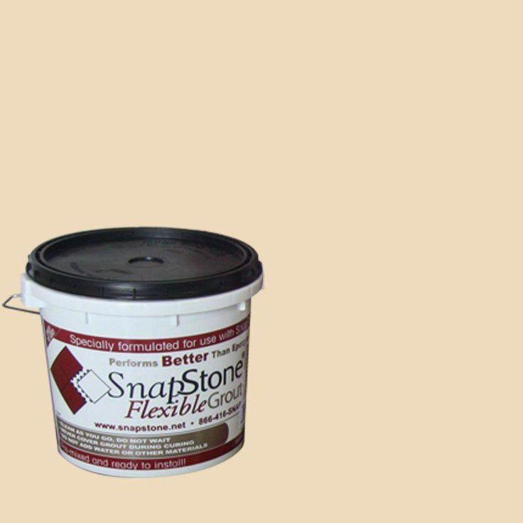 SnapStone Mushroom (Brown) 9 lb. Pail Urethane Flexible Grout