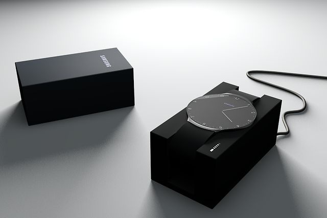 Touch Skin Watch by Niels Astrup. Touch Skin - OLED touch screen and downloadable, customizable skins