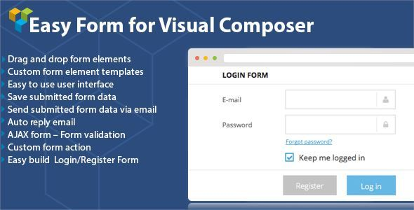 CodeCanyon - DHVC Form : Wordpress Form for Visual Composer Free Download