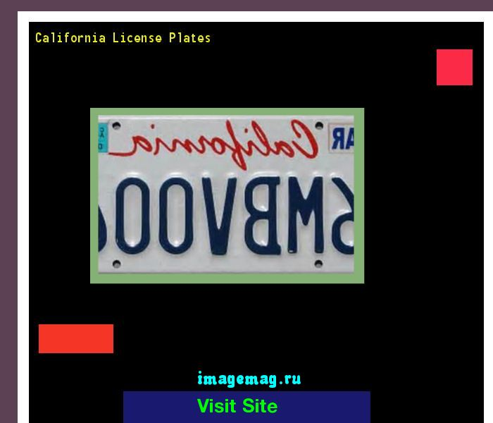 California license plates 190553 - The Best Image Search