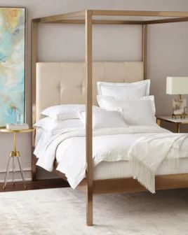 -6VEA   Dublin King Canopy Bed Dublin Queen Canopy Bed