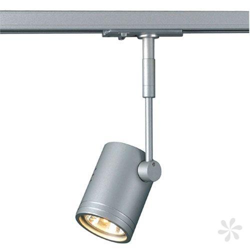 BIMA I Leuchtenkopf für 1-Phasen Schiene, silbergrau