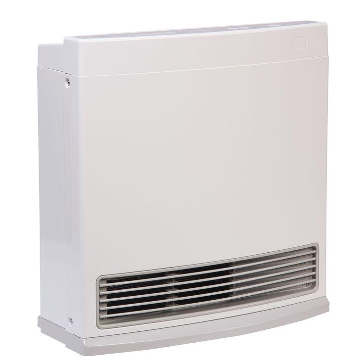 Rinnai FC510N Vent-Free Fan Convector Natural Gas Space Heater (White) (Metal)