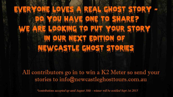 Everyone loves a ghost story - share your experience with us all.