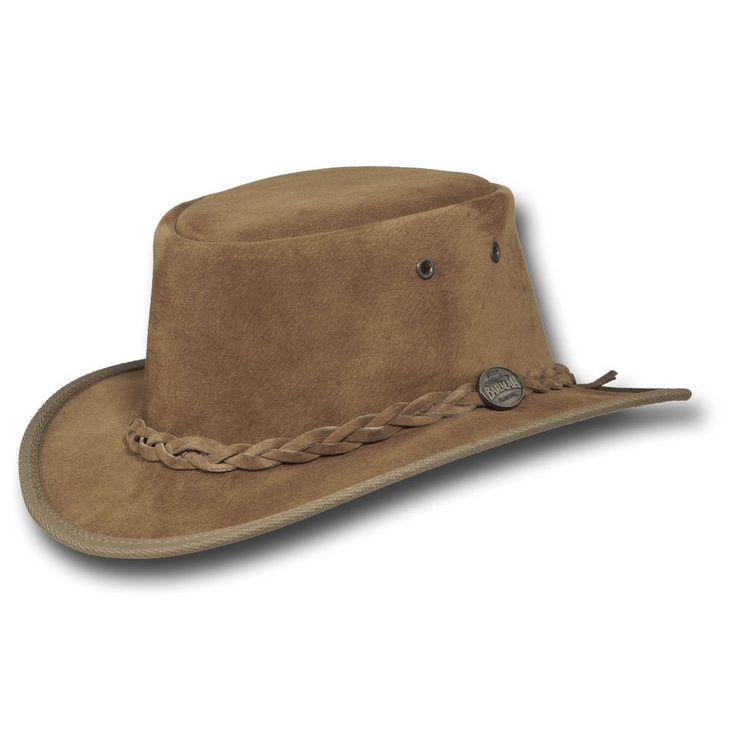 Barmah Hats Narrow Brim Leather Hat - 1094BL / 1094CH / 1094HI / 1094LM / 1094RB #BarmahHats #NarrowBrim