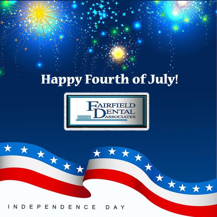Fairfield CT Happy FourthOfJuly from FairfieldDental