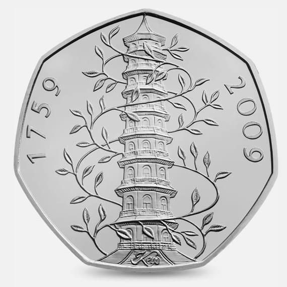 #Collect The Kew Gardens 50p design in your #CoinHunt #Collector album. The Kew Gardens 50p #coin #design is the rarest commemorative #UK coin design to be released into circulation - with only 1 in every 300 people in the UK, or 0.32% of the population, likely to find it in their #change. http://www.royalmint.com/shop/The_Great_British_Coin_Hunt_50p