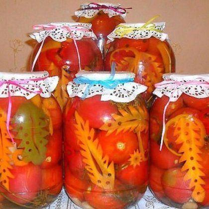 Консервированные помидоры - (более 16 рецептов) с фото на Овкусе.ру