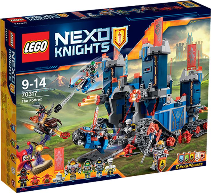 LEGO NEXO KNIGHTS 70317  Fortrex eller andet fra Lego Nexo Knights