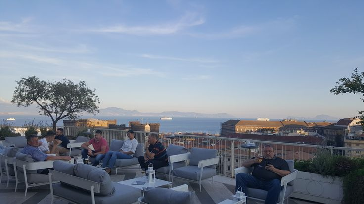 Astonishing views from Terrazza Angiò at Panorama R'Nights