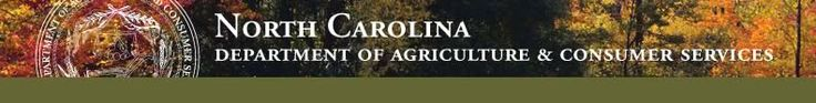 NorthCarolinaDepartmentofAgriculture&ConsumerServices